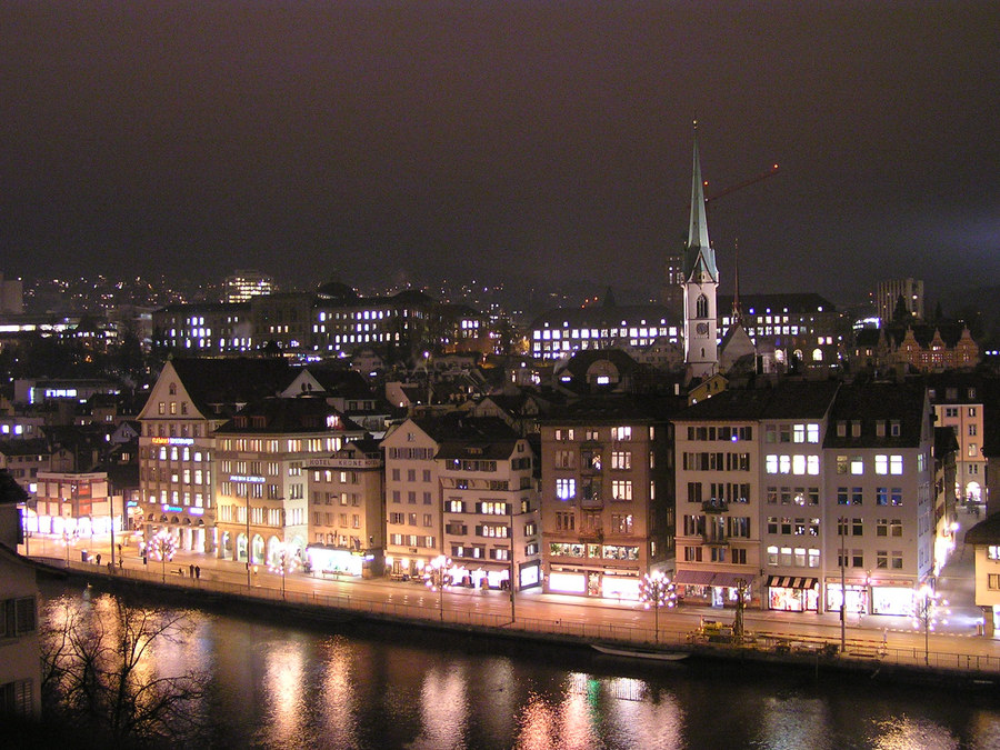 Limmat by Night