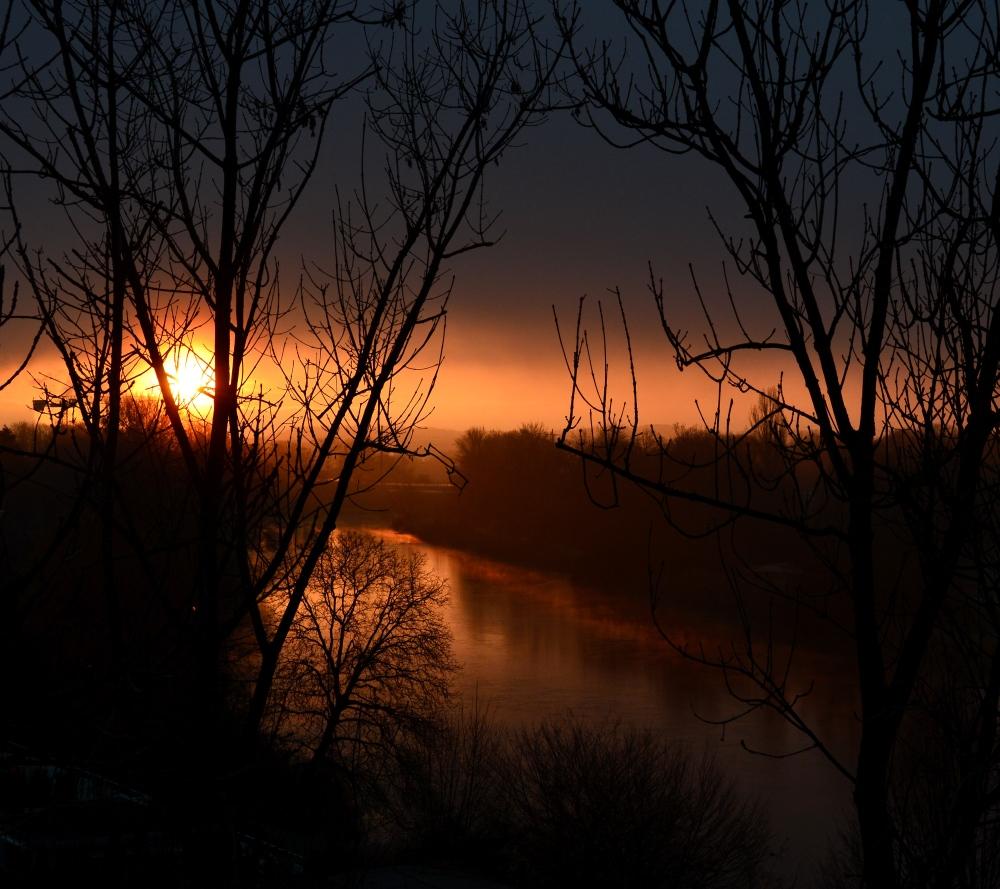 Limmat Morgensonne