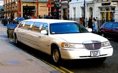 Limousine in Covent Garden