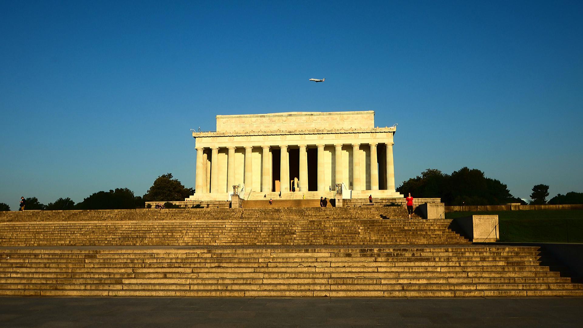 Lincoln Memorial morgens