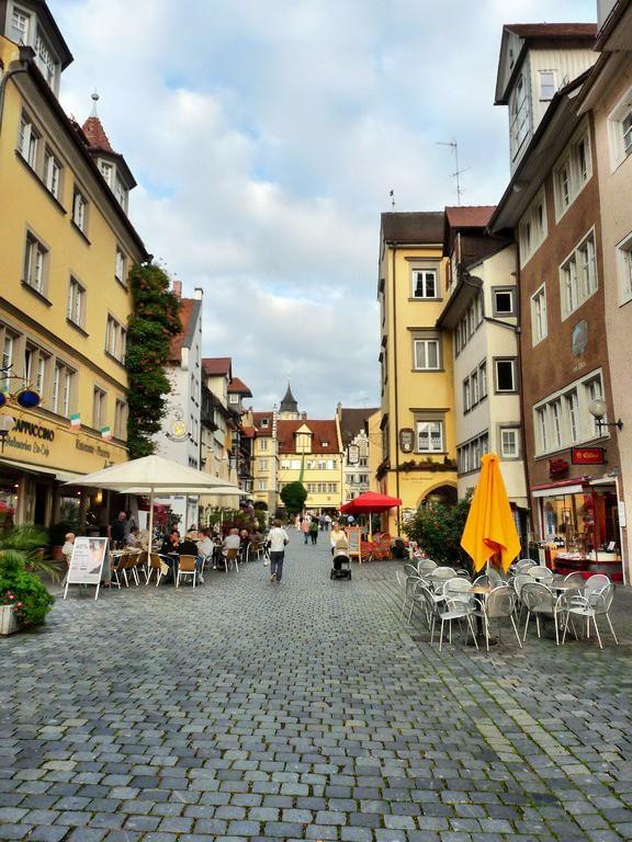 .....Lindauer Altstadt am Nachmittag
