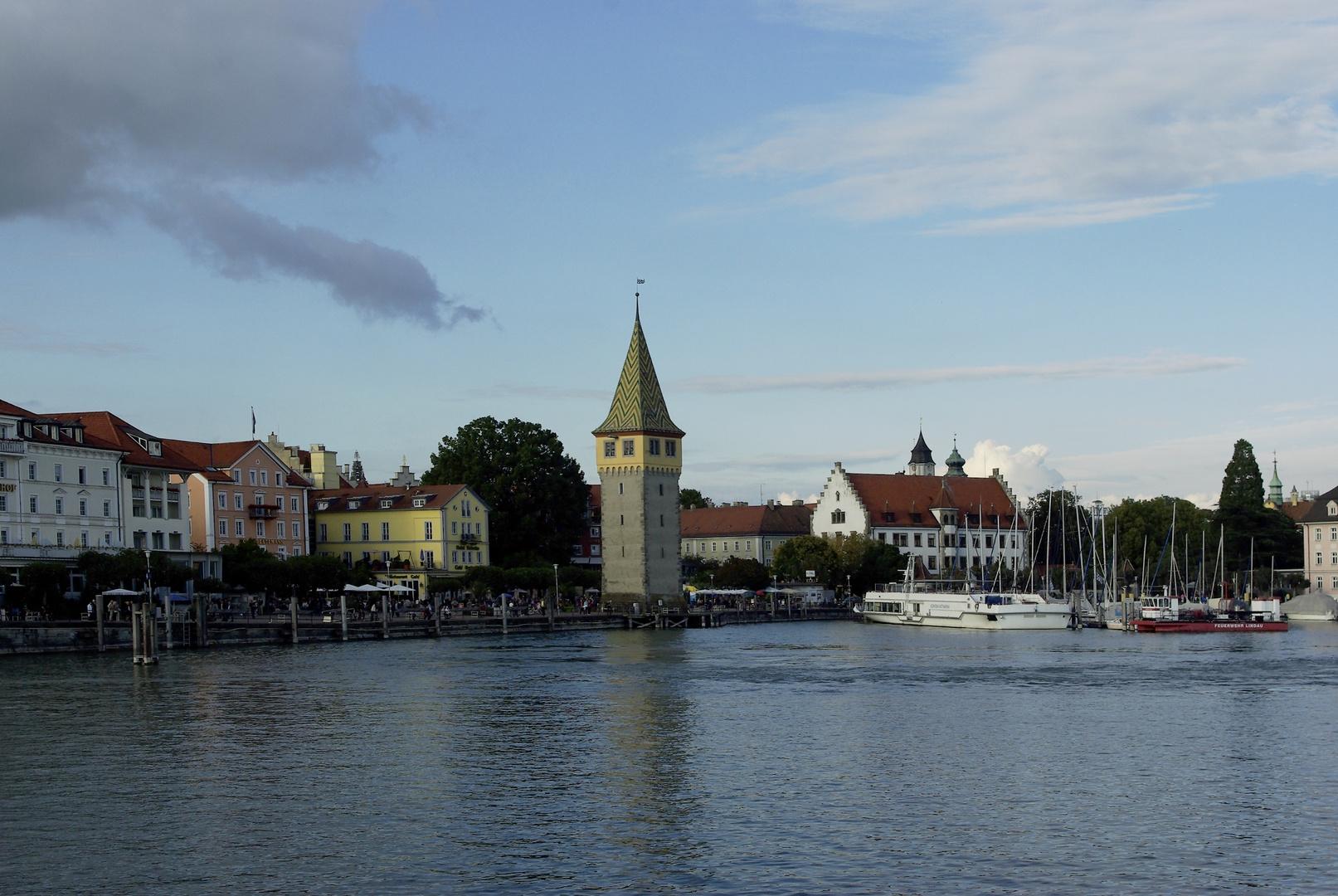 Lindauer Hafen und