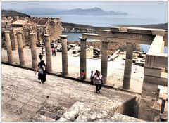 Lindos - Auf der Akropolis