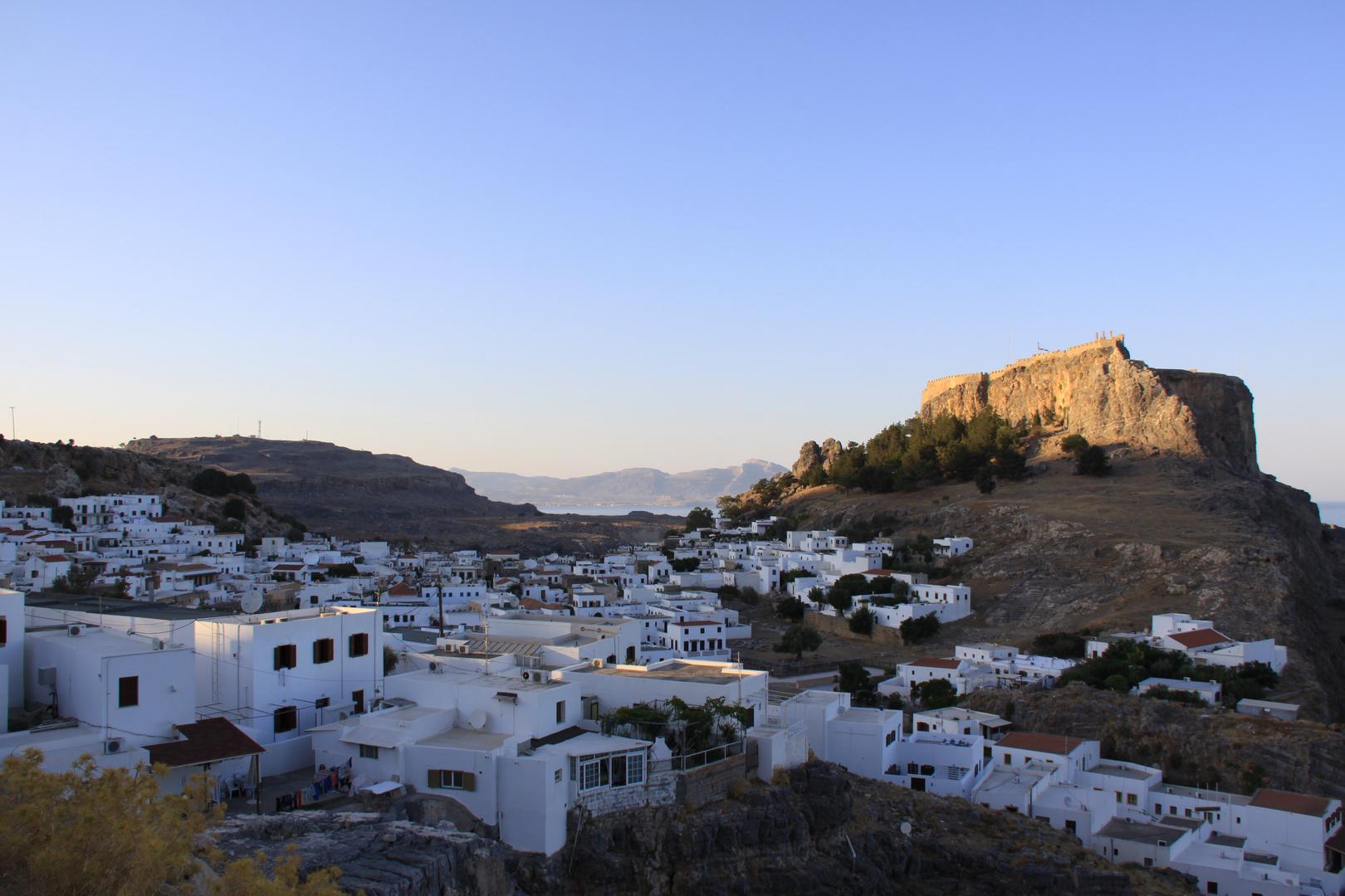 Lindos (mit der Akropolis)