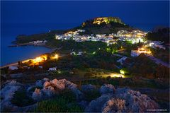 Lindos @ night