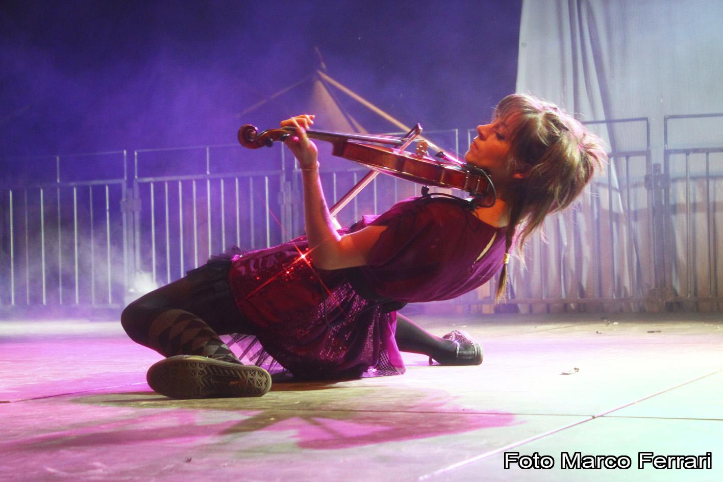 Lindsey Stirling a NovaAria 2012