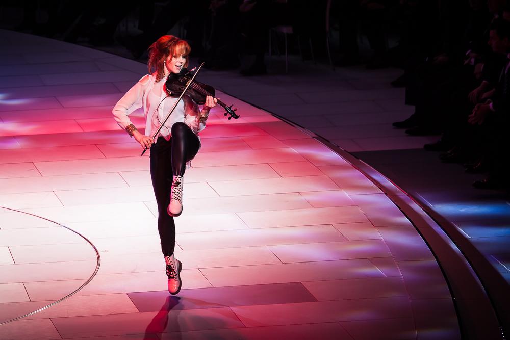 Lindsey Stirling in Aktion