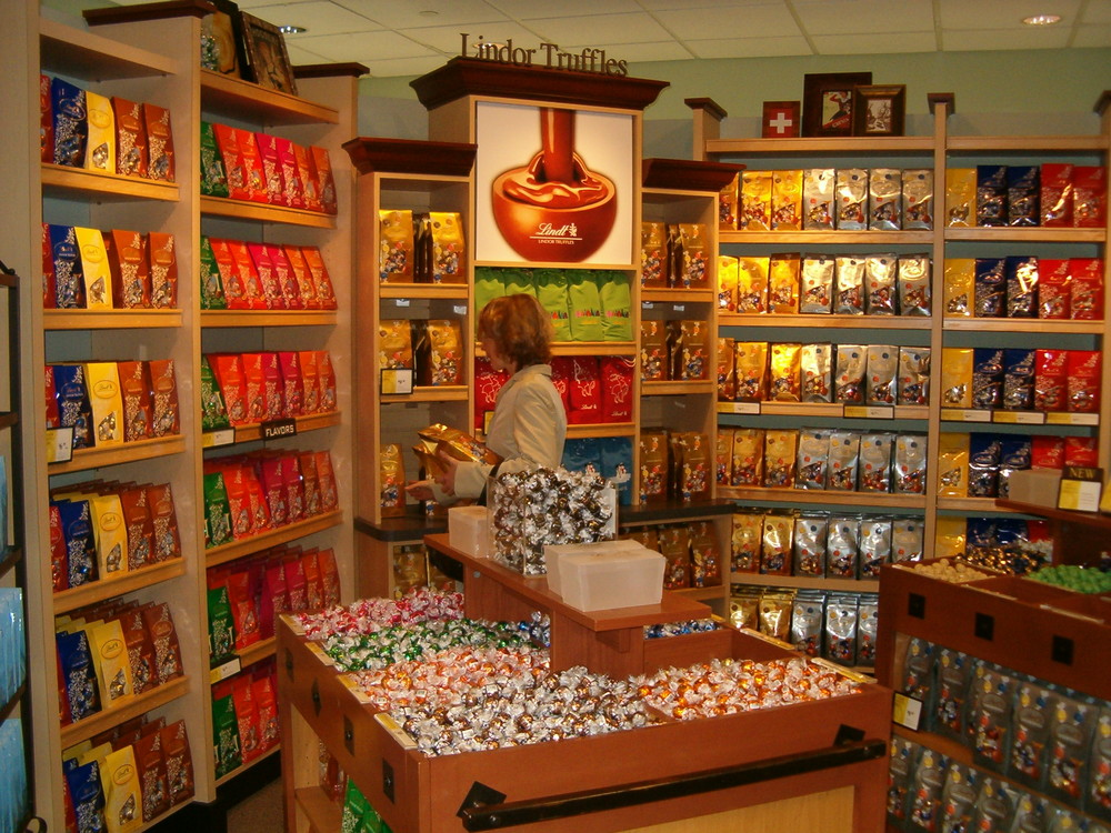 Lindt Shop in Boston