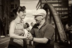 lindy hop in der hafencity
