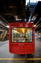 Linie15 im Depot Vohwinkel