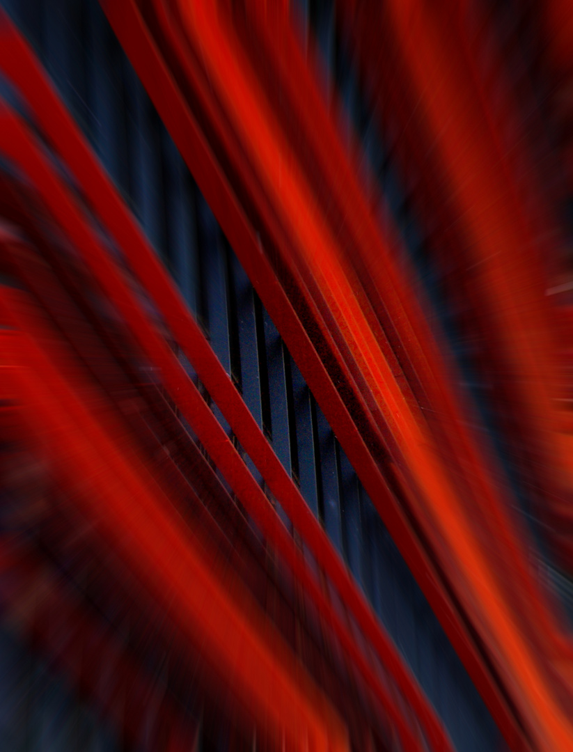 Linien der roten Firmenzentrale
