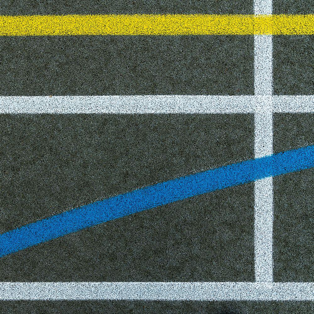 Linien im Quadrat
