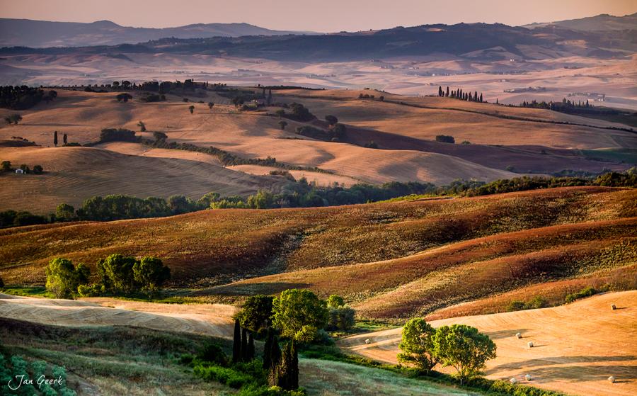 Linien und Farben der Toskana Foto & Bild   europe, italy