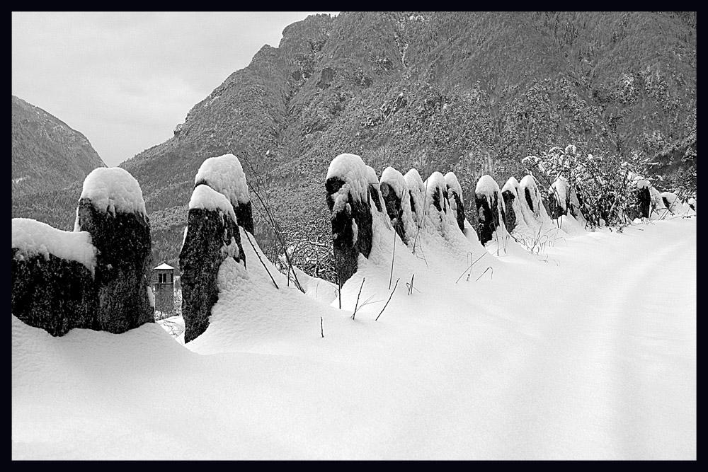 L'inverno in montagna
