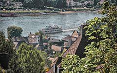 Linz am Rhein, Blick vom Kaiserberg