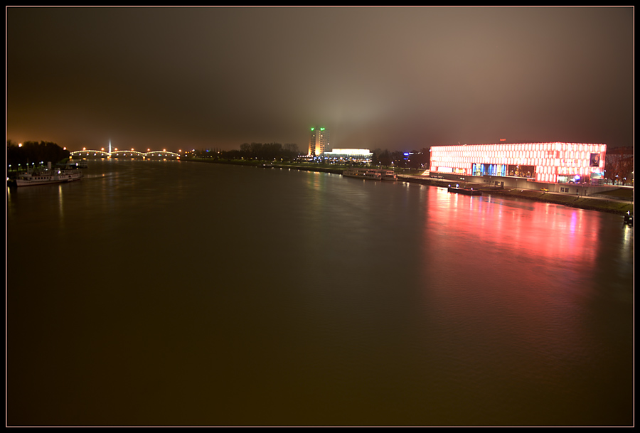 Linz bei Nacht - HDR