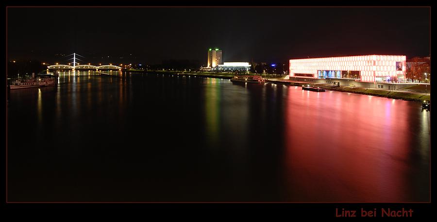 Linz bei Nacht (rereloaded)