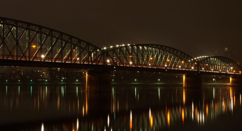 Linz - Eisenbahnbrücke