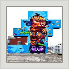 Linz, Hafen - Graffiti-Kunst