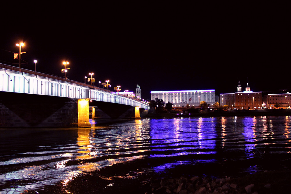 Linz -Nibelungenbrücke