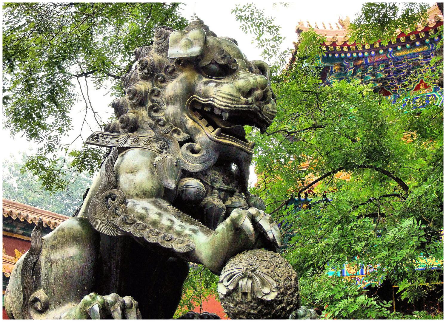 Lion de Chine...
