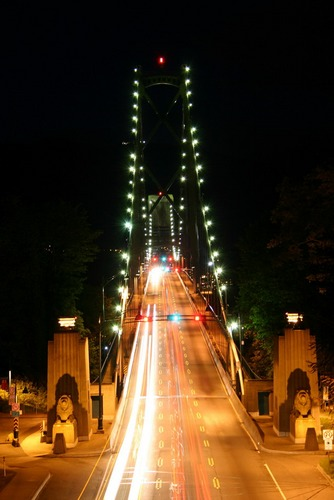 Lions Gate Bridge, Vancouver B.C.