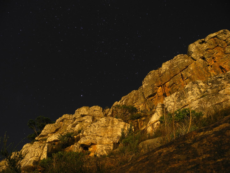 Lions Head Walk By Night Full Moon Foto Bild Landschaft