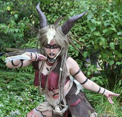 Liora, Witch Doctor OC - Connichi 2018