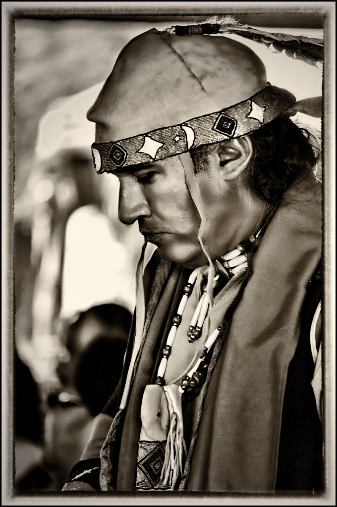 Lipan Apache in Prayer