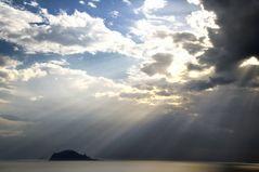 Liparische Inseln -  Morgen vor Panarea