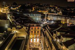 Lisboa by night - Rua do Carmo /Rossio
