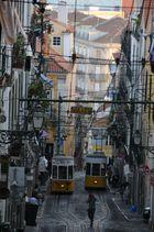 Lisboa - Cruce de electricos
