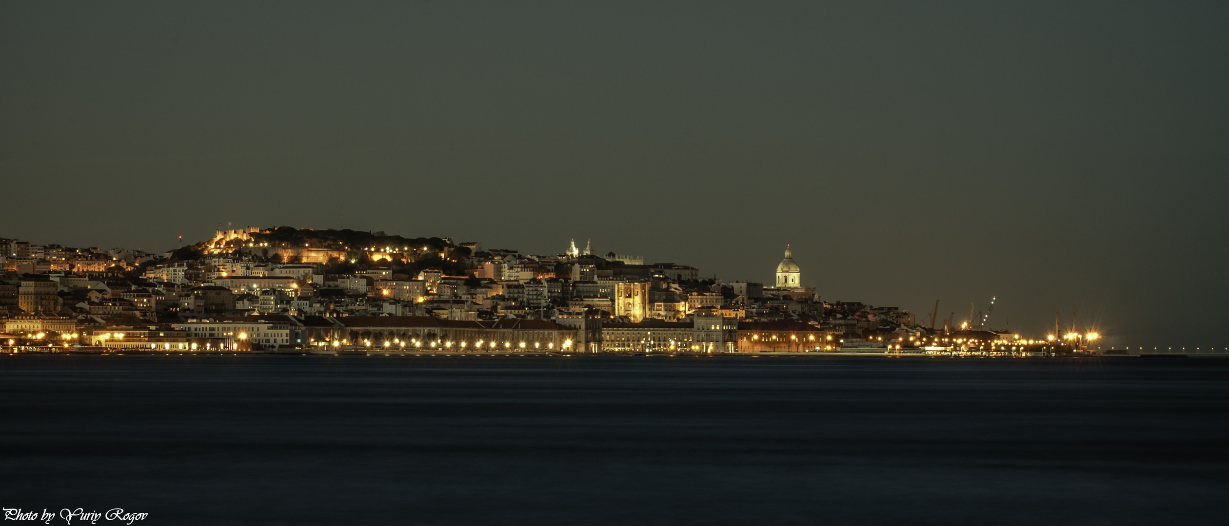 Lisbon. At the end of the day