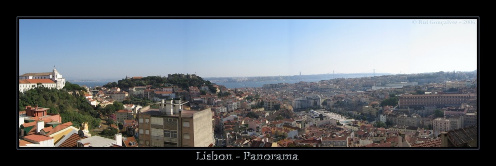 Lisbon... Over the Hills and Far Away