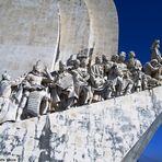 Lisbona e il Monumento ai grandi navigatori...