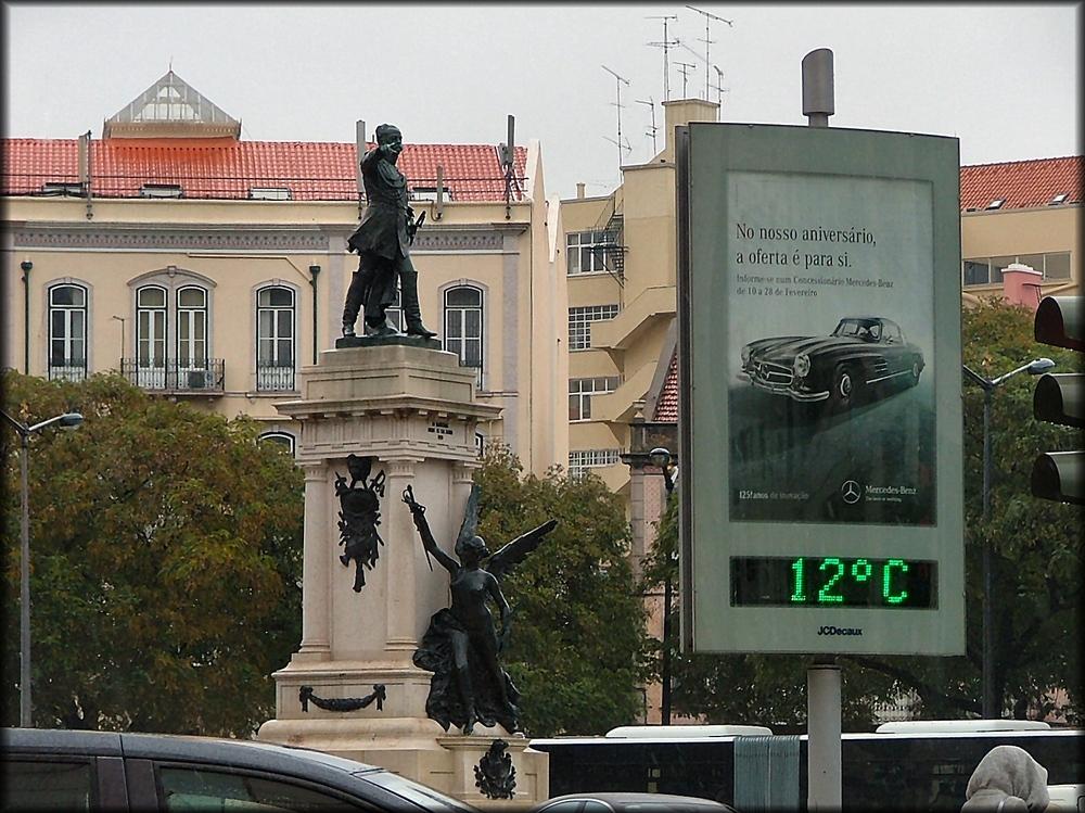Lisbona piovosa.