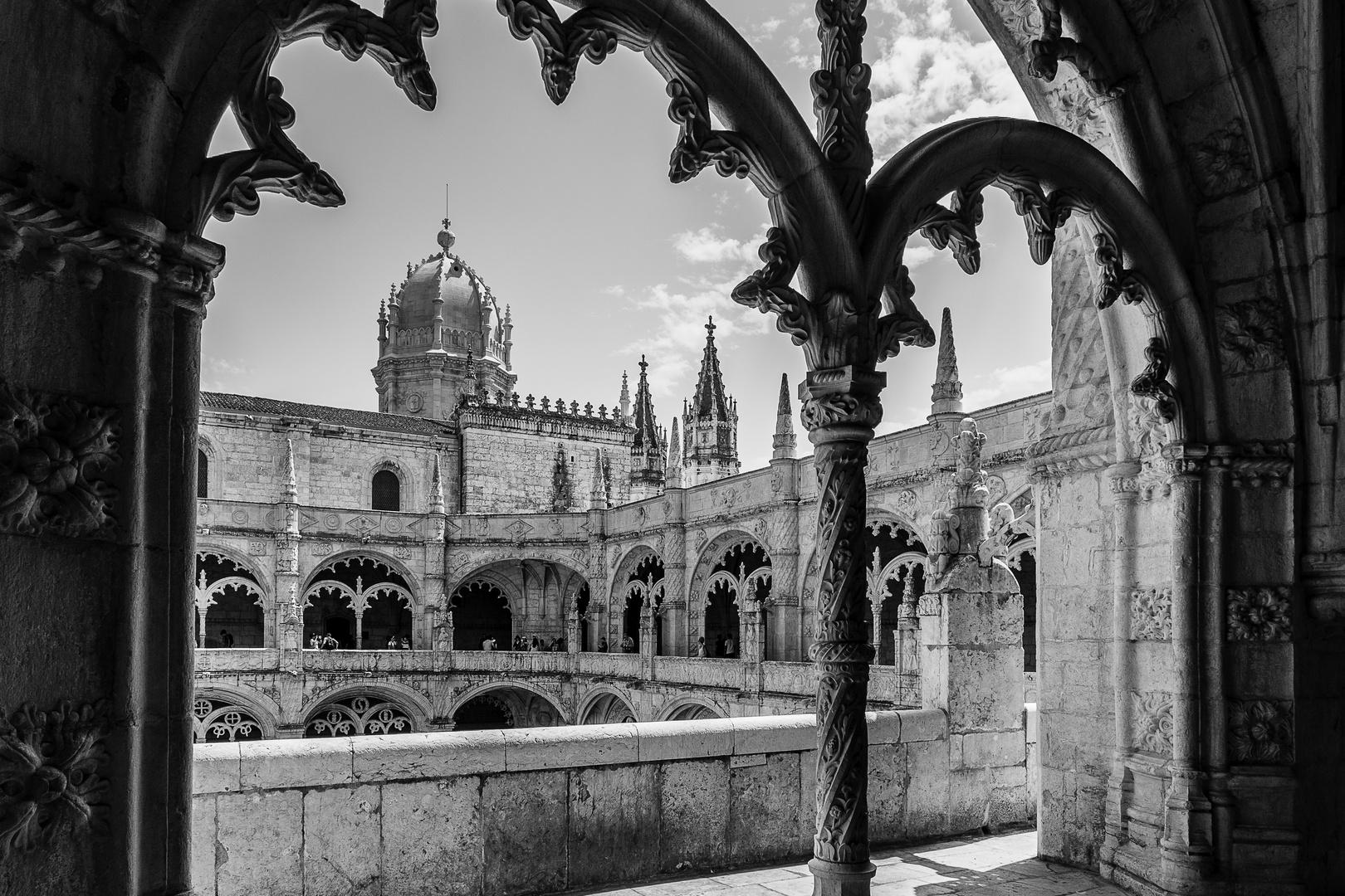 Lisbonne, monastère des Hiéronymites, dentelle de pierre.