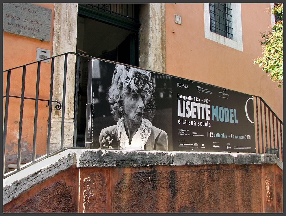 Lisette Model in Rom