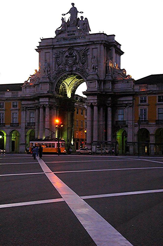 Lissabon . Arco Triunfal