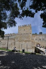 Lissabon . Castelo
