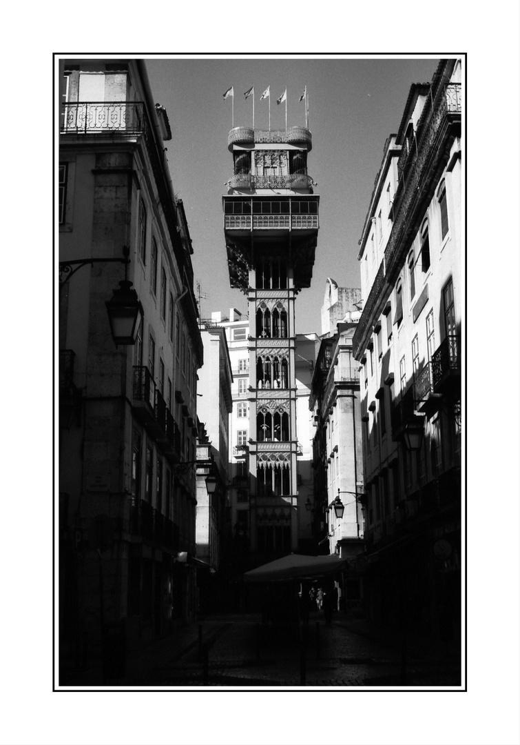 Lissabon - Elevador de Santa Justa -