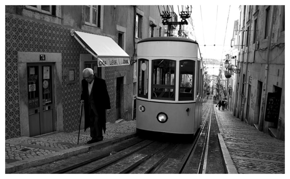 Lissabon ganz steil