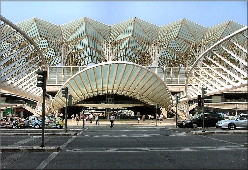 Lissabon Oriente Bahnhof
