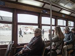 Lissaboner und Touristen