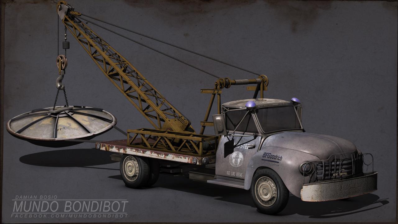 Little A'Le'Inn truck 3d
