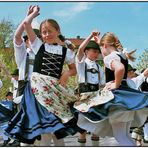 Little Dancers at Easter Time