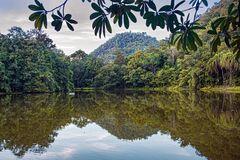 Little lake in Kanchanaburi
