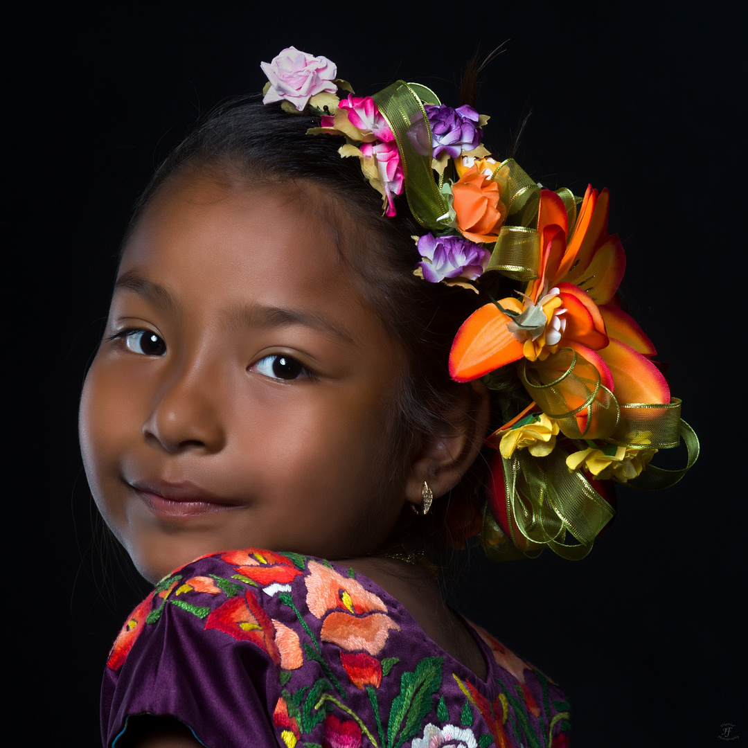 Little mexican girl