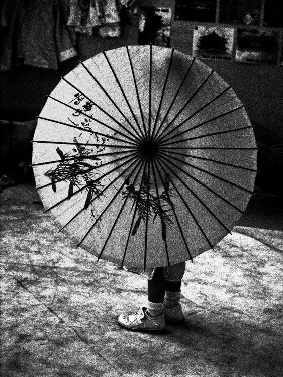 Little Umbrella Girl