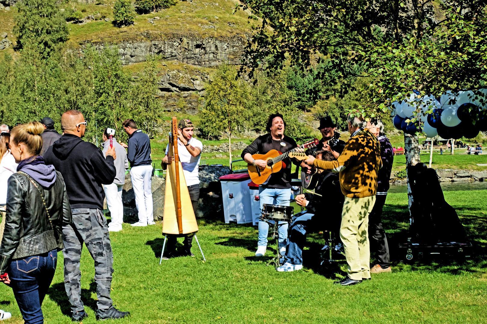 Live Musik in Flam    (  Norwegen  )